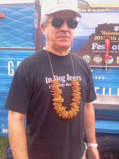 louisville beer - pretzel guy