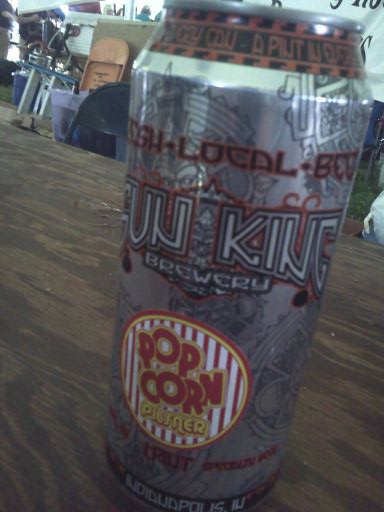 popcorn pilsner sun king