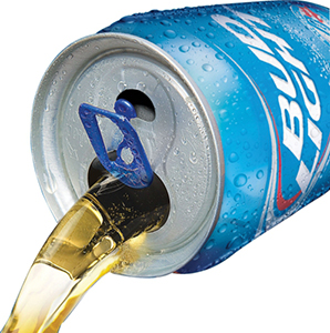 louisville beer - bud light vented can