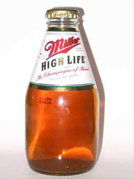 louisville beer - mini miller high life
