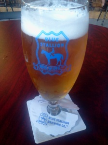 louisville beer - blue stallion german pilsner lexington