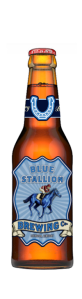 louisville beer - blue stallion logo lexington
