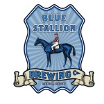 louisville beer - blue stallion original logo lexington