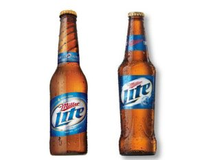 louisville beer - miller lite bottle
