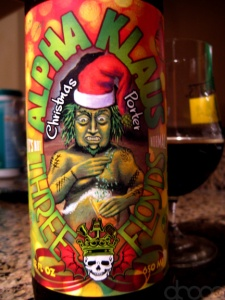 Three Floyds Alpha Klaus beer