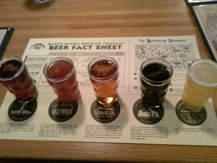 Oaken Barrel sampler.