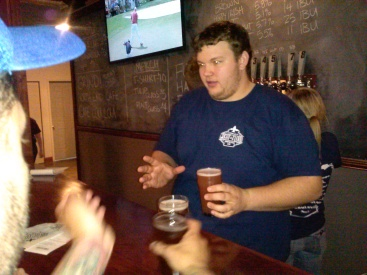 Matt Fuller and his partners in beer were busy guys this past weekend.