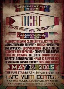 Derby City BrewFest poster